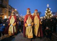 """Žiemos festivalio """"Kalėdos sostinėje"""" pabaigą paskelbs – kilminga Trijų Karalių eisena ir Stačiatikių Kalėdų šventė"""