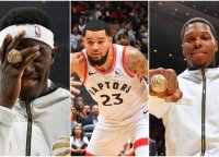 "Čempionų žiedus atsiėmę ""Raptors"" reguliarųjį sezoną atidarė dramatiška pergale prieš ""Pelicans"""