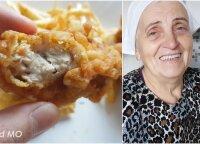 Močiutė parodė, kaip itin paprastai ir gardžiai pasigaminti gruzdintą vištieną