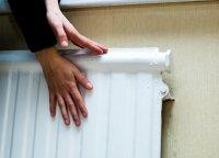 Ką daryti, jei namuose radiatoriaus viršus karštas, o apačia šalta