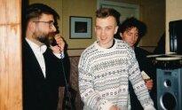 1995 m. Legendinis Anapilio klubas. Kokia antra valanda nakties. Su klubo siela Romu Kiesieliumi ir maestro Vytautu Kernagiu užsisakinėjame picą