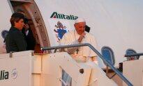 Popiežius Pranciškus atvyksta į Lietuvą
