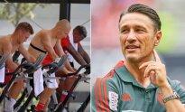 Bayern žaidėjai treniruotėje, Niko Kovačas