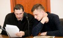 Advokatas Laurynas Pakštaitis ir Olegas Malinovskis