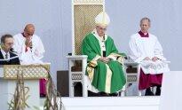 Šventos mišios su popiežiumi Pranciškumi