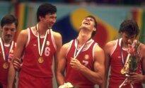 Sergejus Tarakanovas ir Šarūnas Marčiulionis