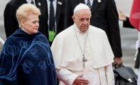 Popiežius kartu su D. Grybauskaite