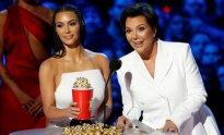 Kim Kardashian ir Kris Jenner