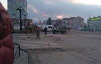 Ukrainos šaudmenų sandėlyje – sprogimas, evakuota tūkstančiai žmonių