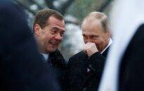 Tik Rusijoje: už V. Putino šaržą – kalėjimas