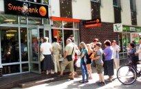 """Ko dalis """"Swedbank"""" klientų galėtų pasimokyti iš Buridano asilo"""