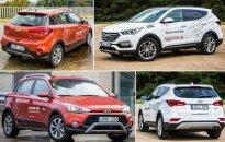 Hyundai i20 Active ir Hyundai Santa Fe