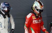 """""""Ferrari"""" technika nepatenkintas S. Vettelis: tai turi baigtis"""