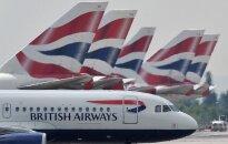 """""""British Airways"""" nuostoliai dėl IT sutrikimų gali siekti 190 mln. JAV dolerių"""