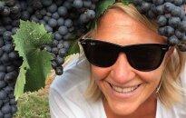 Garsias moteris vyno kursai išmokė atskirti skonius, kvapus ir spalvas