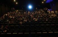 At a cinema