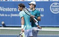 S. Wawrinka ir R. Nadalis suklupo JAV