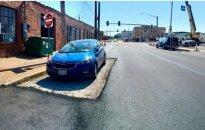 Gatvės remontas virto parodija