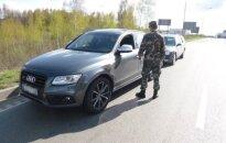 """Pasieniečiai sulaikė vogtą """"Audi Q5"""", kuriuo nuvažiuota tik pustrečio tūkstančio km"""