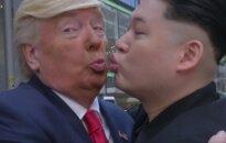 Honkonge – nevaldomi D. Trumpo ir Kim Jong Uno jausmai