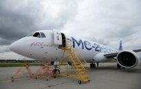 Rusija išbandė naują keleivinį lėktuvą
