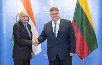 Indian Minister Mobashar Jawed Akbar in Vilnius