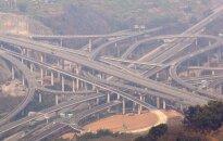 Kinai per 8 metus pasistatė įspūdingą transporto mazgą