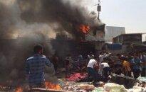 Bagdade susisprogdindamas mirtininkas nužudė šešis žmones