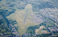 The Vilnius Air Port, a view from 6 km