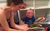 Internetą užkariavo knygas dievinantis mažylis