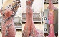 Prabangią suknelę iš Kinijos užsisakiusi mergina ją gavusi pašiurpo