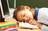 Vėlai miegoti einantiems vaikams – rimtos ligos