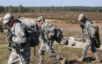 Tarnybą Lietuvoje pradėjo nauja JAV rotacinių pajėgų pamaina