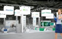 Lithuanian stand in the Munich (Germany) Fair, which will take place June 26-29