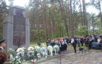 National Memorial Day for the Genocide of Lithuanian Jews Marked with Commemoration at Paneriai