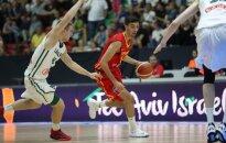 Lietuvos jaunimo U-20 krepšinio rinktinė finale kovojo su Ispanija