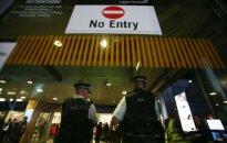 Dėl incidento Londono oro uoste buvo sulaikytas įtariamasis