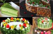 Daržovių tortai: malonumas be nuodėmės