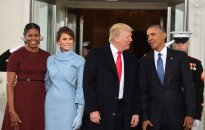 Istorinė akimirka: prasideda D. Trumpo inauguracijos ceremonija