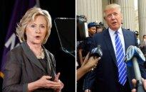 Hillary Clinton, Donaldas Trumpas