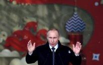 Iššifravo V. Putino žodyną: jis visada renkasi vieną iš keturių kaukių