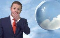BBC orų pranešėjui sunkus rytas po vakarėlio sutrukdė transliaciją