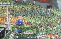 Fotoreportažas iš Moksleivių dainų šventės