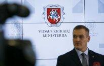 Minister of Interior in Šalčininkai