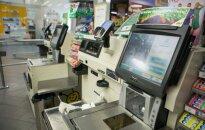 Naujovės parduotuvėse sumažins eiles ir neleis apsirikti skaičiuojant grąžą