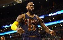 L. Jamesas tapo rezultatyviausiu visų laikų NBA atkrintamųjų krepšininku.