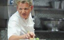 G. Ramsay neleidžia savo atžaloms valgyti jam priklausančiuose prabangiuose restoranuose