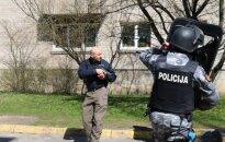 AMOK Klaipėdoje: Mobilios kuopos patruliai turėjo reaguoti į ginkluotą žmogų prekybos centre