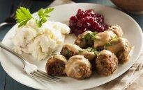 Šios vakarienės prašysite pakartoti: mėsos kukuliai su ruduoju padažu