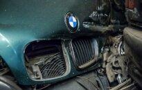 BMW avarija, asociatyvi nuotr.